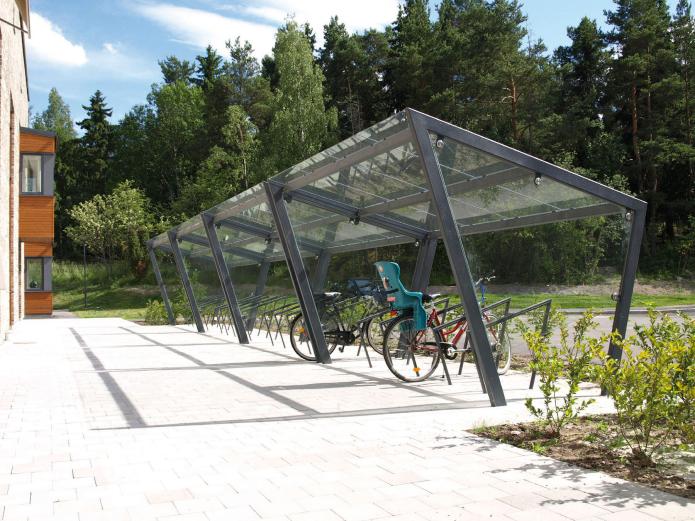 Refugio para bicicletas Zuzen
