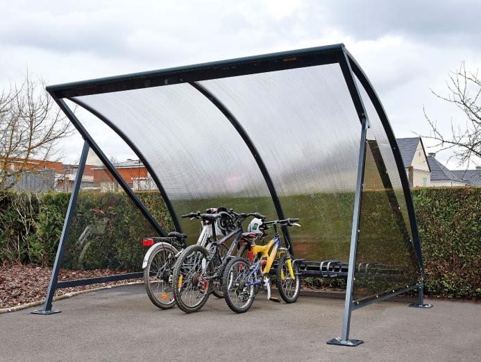 Refugio para bicicletas Luna
