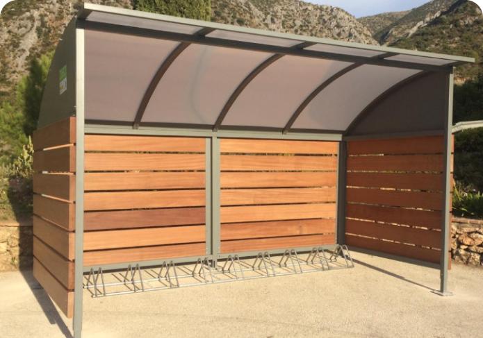 Refugio para bicicletas Gogor